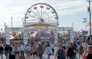 Missouri State Fair, Sedalia photo courtesy of MO Division of Tourism