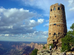 Desert View Watchtower. Photo by NPS.