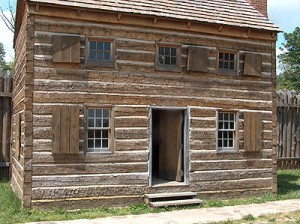 Barracks, Fort Massac State Park. Photo by Michelle Snow.
