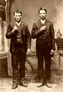 Frank and Jesse James in  Carrolton, Illinois