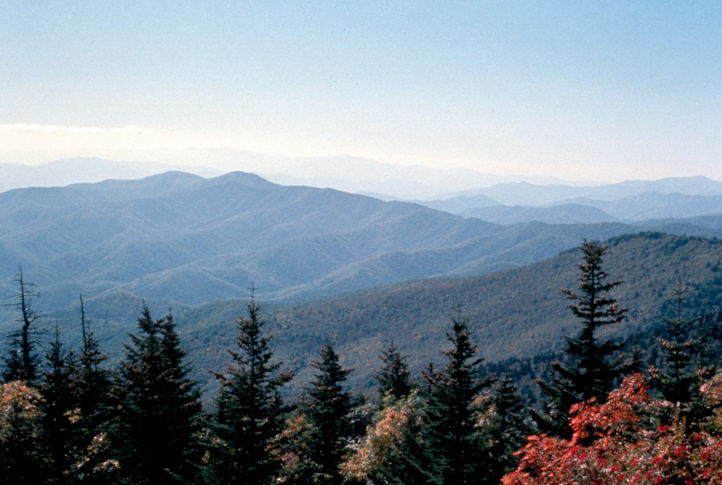 Autumn, Mountain View - Great Smoky Mountains National Park
