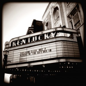 Kentucky Theatre, Lexington, Kentucky. Photo by Stephen Jesse Taylor.