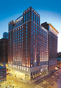 Grand Tower, Renaissance St. Louis Grand Suites & Hotel. Photo courtesy of Marriot.