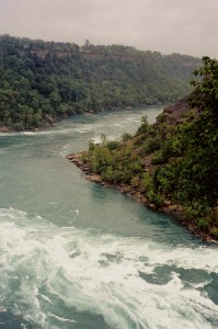 Near the whirlpool, Niagara River