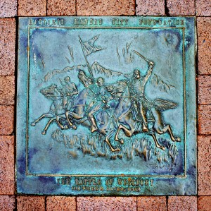 Battle of Westport Plaque, Kansas City, Missouri